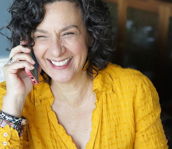 laurie-bornstein-realtor-on-phone